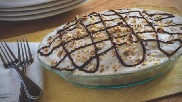 Maple View Farm ice cream pie (Durham Magazine)