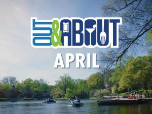Out and About TV's April edition