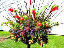 For the second consecutive year, the N.C. Museum of Art is hosting Art in Bloom, a four-day festival or art and flowers. The event features 56 floral masterpieces inspired by the museum's permanent collection.