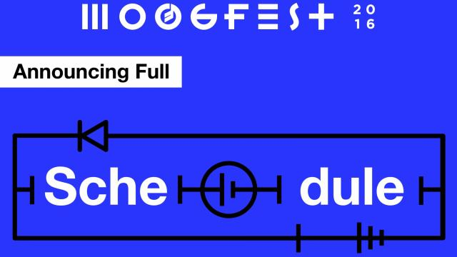 Moogfest has released its full schedule