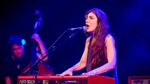 Julia Holter plays Carolina Theatre during Moogfest on May 19, 2016. (Images courtesy of Moogfest)