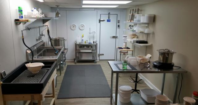 Cheese kitchen
