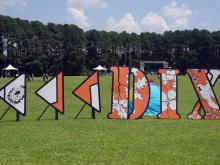 """Raleigh taxpayers got a first look at the future Saturday at """"Destination Dix,"""" a free, summer festival on the site of the city's planned destination park."""