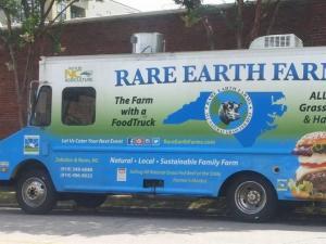 Rare Earth Farms food truck (Facebook)