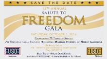 12th Annual Salute to Freedom Gala Presented by Community Coffee