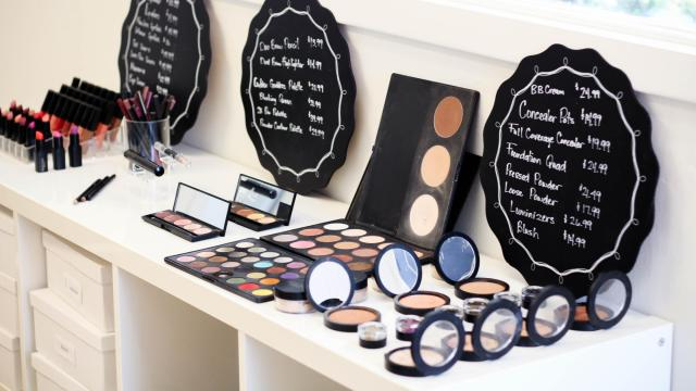 Front Row Cosmetics is located at 14 Glenwood Ave. in Raleigh. (Photo by Hailey Porter)