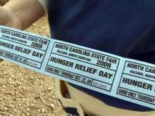 Can Day at the State Fair, Hunger Relief Day