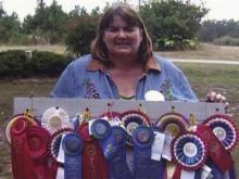 Local woman a State Fair 'Blue Ribbon Belle'
