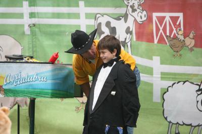 A cute kid at the N.C. State Fair on Thursday, Oct. 20, 2011.