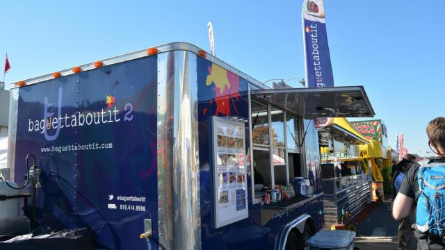 Baguettaboutit food truck is a new addition to the food at the N.C. State Fair.