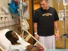 WFU Coach who donated a kidney to his player will lead the Triangle Kidney Walk, April 2