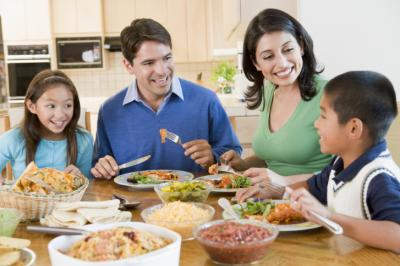 Women wanting to lose weight often eat a separate meal from their families at dinner time. The truth is not only is this time consuming, but this is a really bad idea for many reasons. The good news? There are much better alternatives. (Deseret Photo)