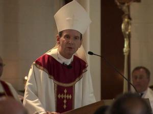 Bishop Michael Burbidge of the Diocese of Raleigh