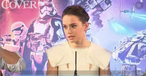 """""""Star Wars"""" actress Daisy Ridley doesn't want you to give up when you're down about your illness. (Deseret Photo)"""