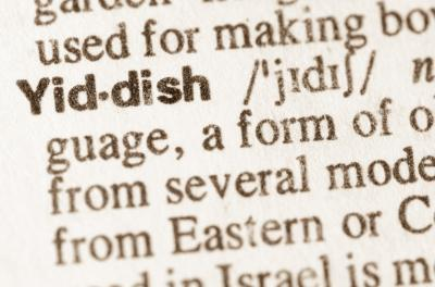 Definition of word Yiddish in dictionary (Adobe) (Deseret Photo)