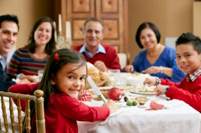 Family dinner with young children can be chaotic at best. Simple changes, like meal planning, can help alleviate that so everyone can enjoy dinner. (Deseret Photo)