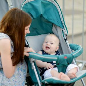 Baby talk, or the high-pitched, sing-songy voice parents use when talking to their babies, help babies learn language faster. (Deseret Photo)
