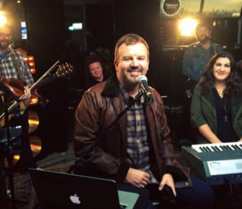 Casting Crowns poses for a photo. (Deseret Photo)