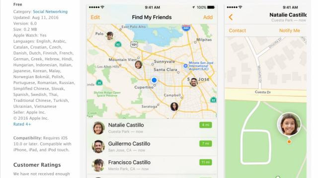 "The ""Find My Friends"" app for iOS. (Deseret Photo)"
