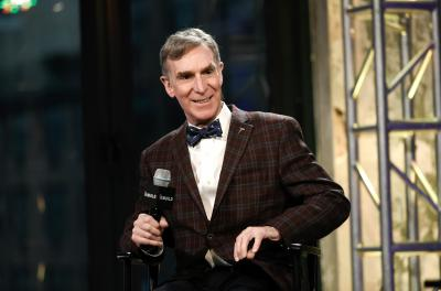 "In this Dec. 17, 2015, file photo, Bill Nye, the Science Guy, participates in AOL's BUILD Speaker Series to discuss his new book, ""Unstoppable: Harnessing Science To Change The World"", at AOL Studios, in New York. (Deseret Photo)"