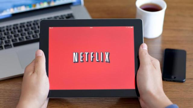 Simferopol, Russia - June 22, 2014: Netflix American company, a provider of films and TV series based on streaming media. The company was founded in 1997. (Deseret Photo)