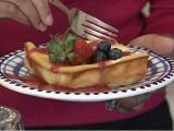 Berry Cheese Blintz Bake