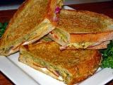 Fried Summer Squash Panini