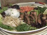 Asian Steak Salad, Local Dish