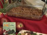 Apple-cranberry casserole