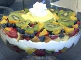 Michelle's fruit trifle