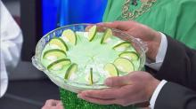 Key Lime pie is a light and fruity nod to St. Patrick's Day's green theme.