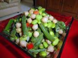 Local Dish: Edamame and green bean salad