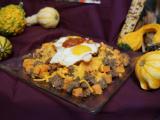 Local Dish: Sweet potato and sausage hash