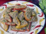 Stuffed pepper appetizers