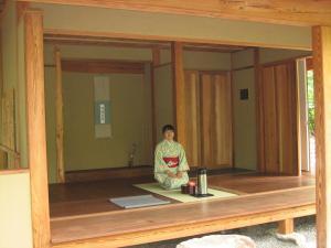 Japanese tea gathering at Duke Gardens