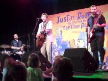 Justin Roberts performs new song Trick or Treat in Carrboro