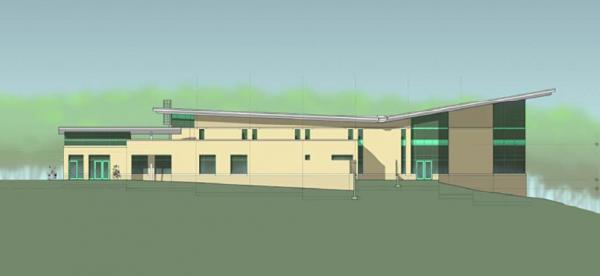 Construction on the Buffaloe Road Aquatic Center is scheduled to begin in August. It's slated to open around Thanksgiving 2011.