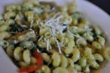 Spinach mushroom cavatappi is on the menu at Raleigh's Pronto Pasta.