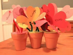 Erin James, Go Ask Mom's crafty mom, offers this simple Valentine craft.