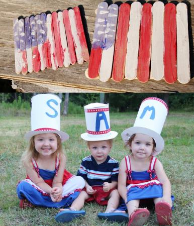 Erin James, Go Ask Mom blogger, offered these craft ideas.