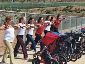 Stroller Strides class