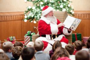 Tea with Santa at The Umstead