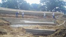 New outdoor amphitheatre at Pullen Park