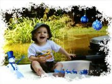 Bayden Maxwell is the winner of Go Ask Mom's Cutest Baby Contest in the 13 to 24 month category.