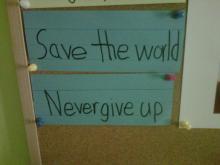 Amanda Lamb's younger daughter's resolutions.