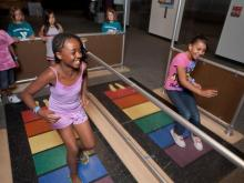 Math Moves! opens at the Museum of Life and Science