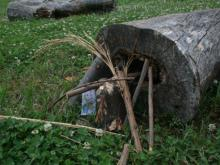 Gnome house at Prairie Ridge Ecostation
