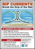 Rip current information