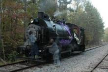 Halloween Express on New Hope Valley Railway