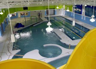 Buffaloe Road Aquatic Center. Photo courtesy: City of Raleigh